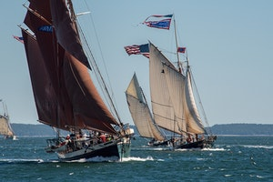 Maine Windjammer Sail