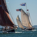 Maine Windjammer Sail Rockland Maine United States