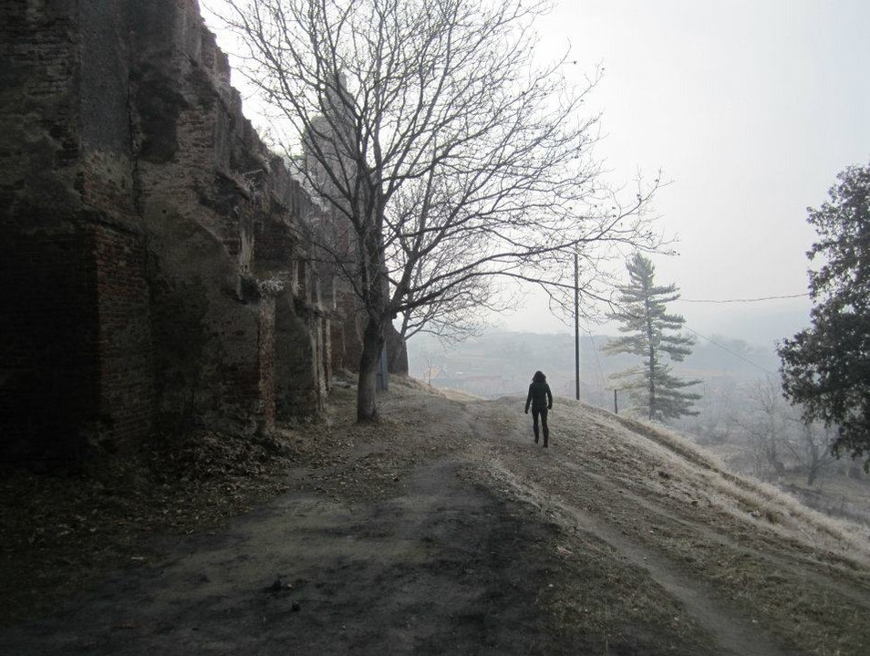 Ruins of the ancient Romanians
