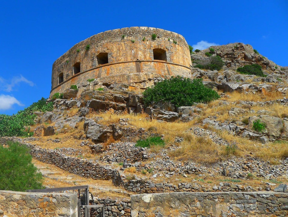 Amazing untouched historical island Lasithi  Greece