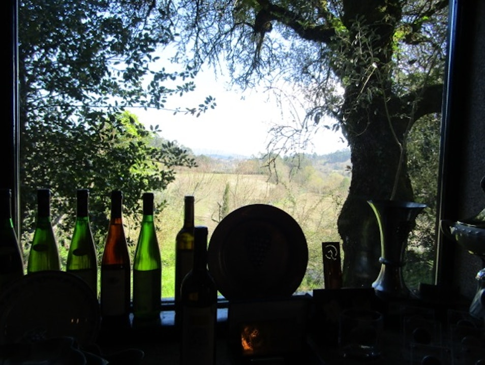 Stay at a celebrated local vineyard
