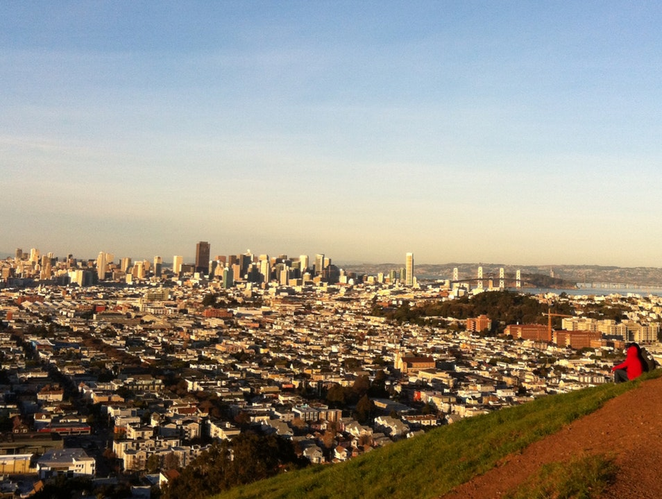 Bernal heights park san francisco afar a locals view of sf san francisco california united states publicscrutiny Images