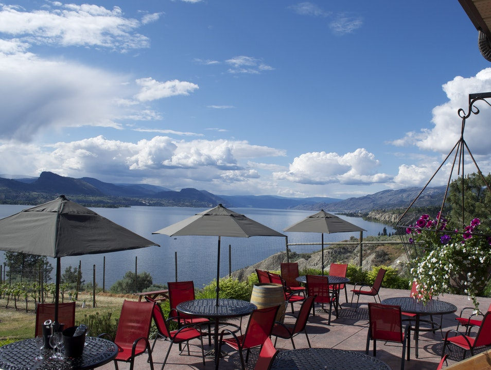 A Winery with a View: Bench 1775 Penticton  Canada