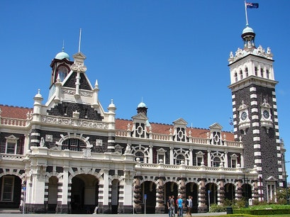 Dunedin Railway Station Dunedin  New Zealand