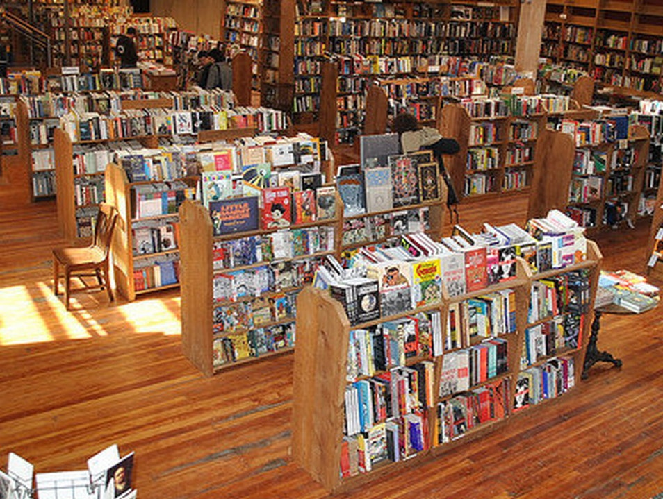 Elliott Bay Book Company Seattle United States Washington Afar