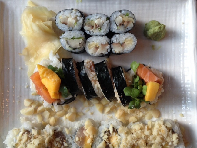 delicious hole-in-the-wall sushi.