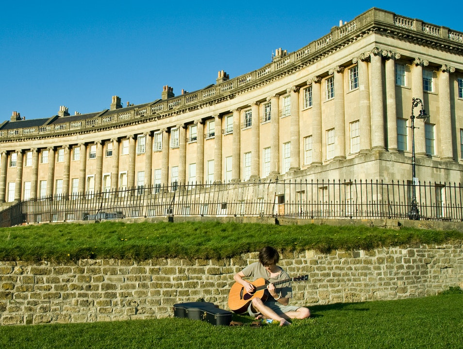 The Royal Crescent Bath  United Kingdom