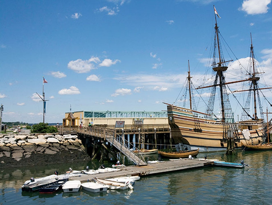 Mayflower II and Plimoth Plantation Plymouth Massachusetts United States