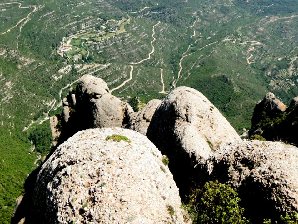 Top of Sant Jeroni(mo!) Marganell  Spain