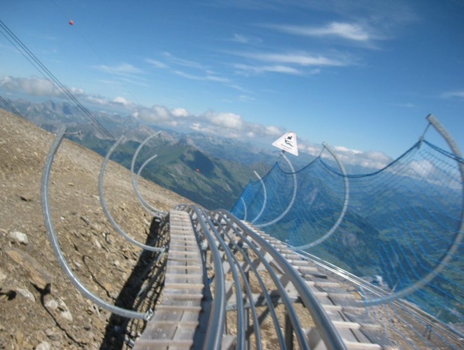 Highest Coaster in the World Les Diablerets  Switzerland
