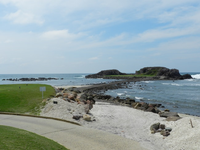 'The Whale's Tail', aka, Hole 3B, Punta Mita