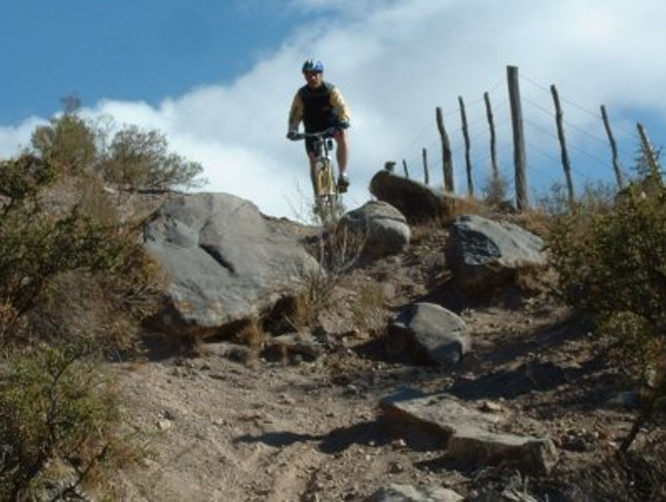 Mountain Biking El Salto  Argentina