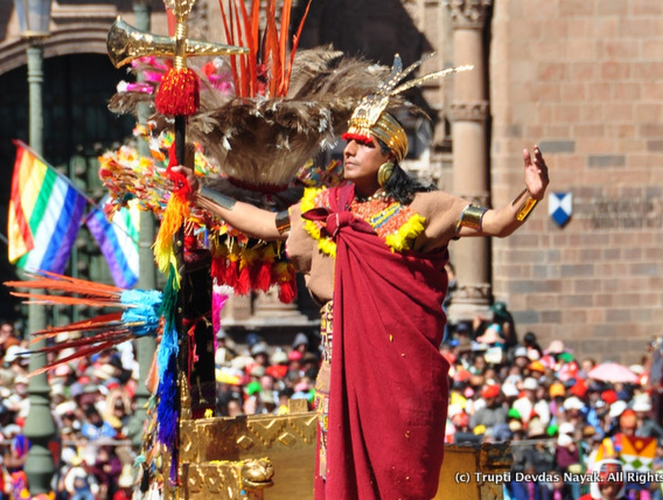 "Inti Raymi - ""Festival of the Sun"" in Cusco Cusco  Peru"