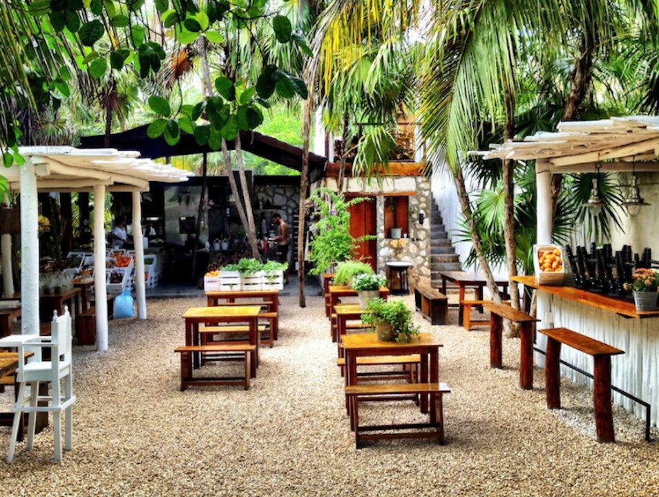 An Off-the-Grid Restaurant in Tulum  Chacalal  Mexico