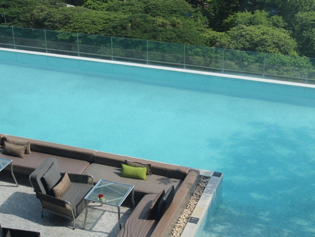 Rooftop Pool at the So Sofitel Bangkok