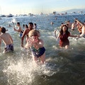 New Year's Day Polar Bear Dip Vancouver  Canada