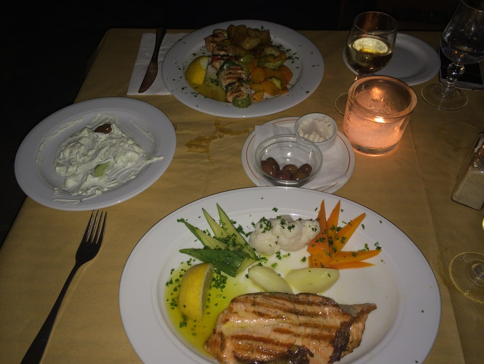 Authentic Cuisine in The Plaka Αθήνα  Greece