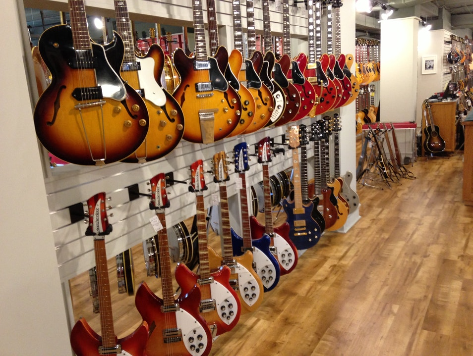 Guitar Greats Nashville Tennessee United States