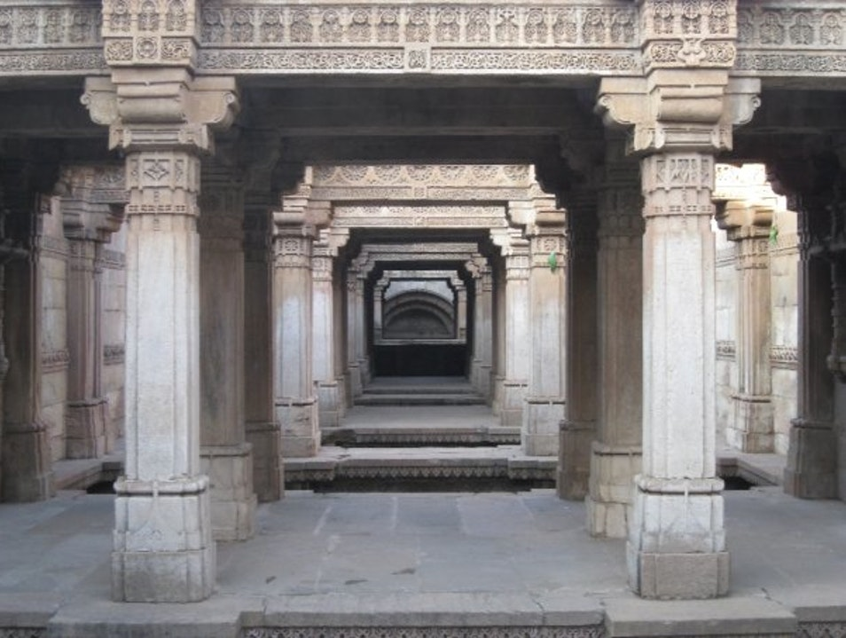 Adalaj Step Well Gandhinagar  India