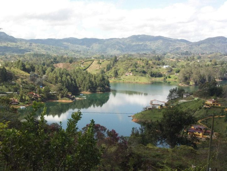 Escape to the lakes of Guatape Guatape  Colombia