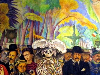 Museo Mural Diego Rivera Mexico City  Mexico