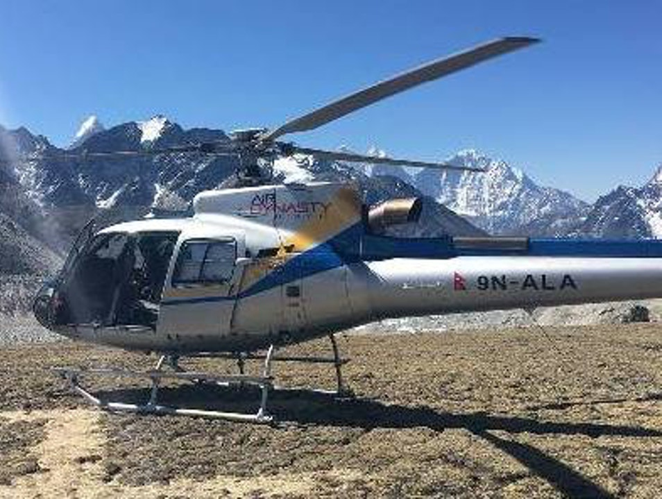 Mount Everest Base Camp Helicopter Tour Nepal Kathmandu  Nepal