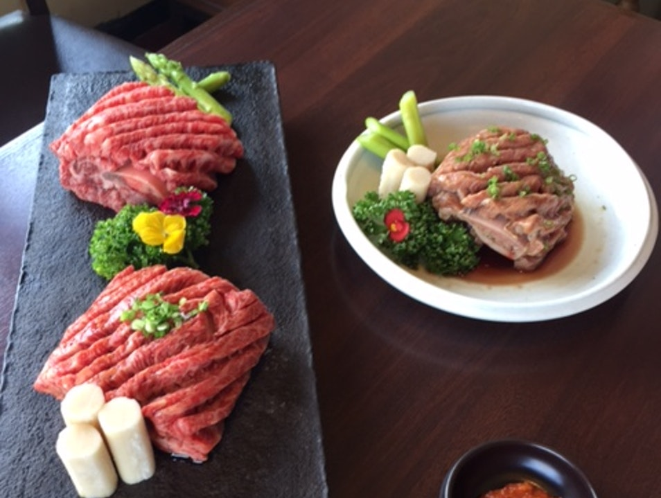 Grilling Beef From Relaxed Cows Seoul  South Korea