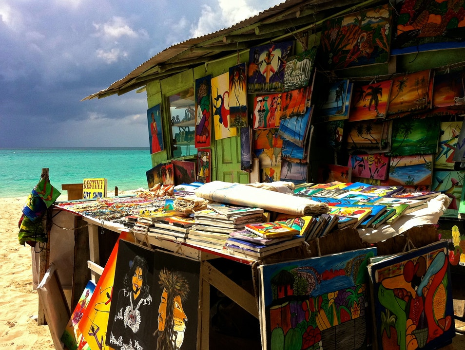 Shop and Haggle on Seven Mile Beach
