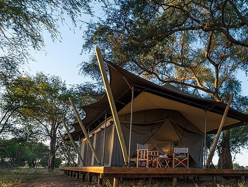 Ruckomechi Camp and Little Ruckomechi Camp  Kafue  Zambia