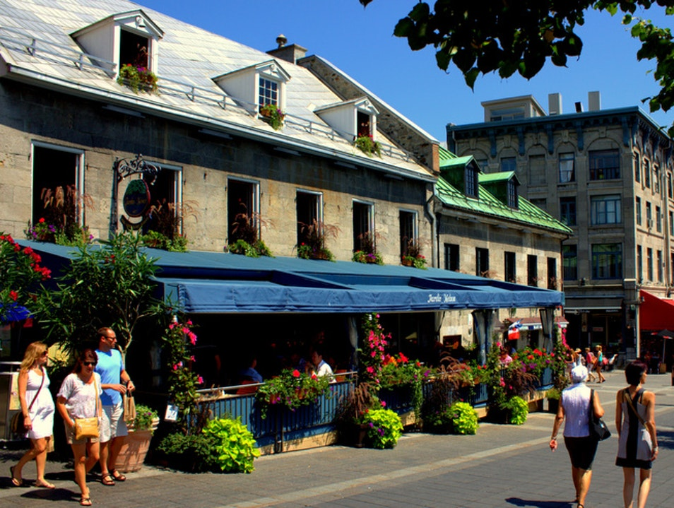 The Epicenter: Place Jacques-Cartier Montreal  Canada
