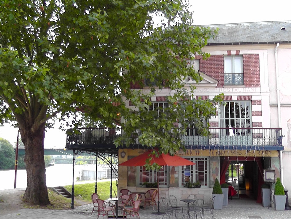 The Restaurant Where Renoir Painted Chatou  France