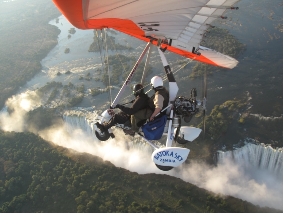 Microlight Flights over Victoria Falls