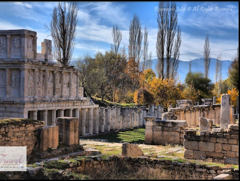 The Remains of a Greco-Roman City – Aphrodisias Karacasu  Turkey