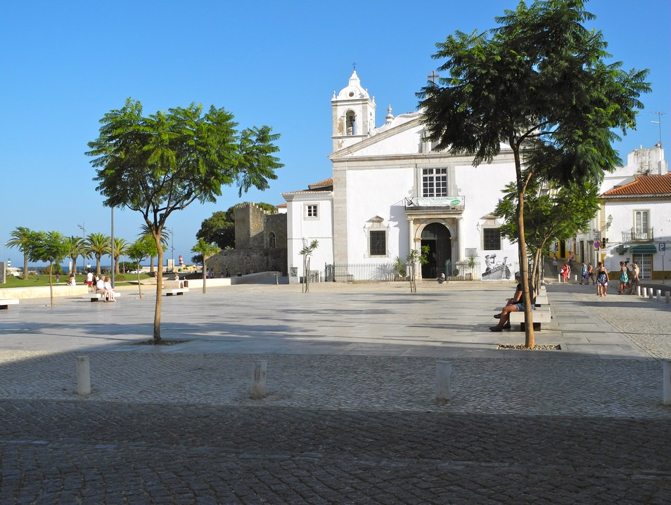 The Algarve's  Capital ( 13th & 14th C. ) Lagos  Portugal