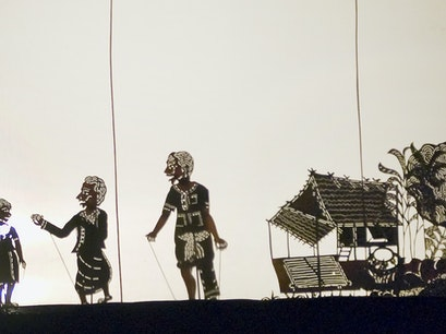 Shadow Puppetry at Kafu Resort & Spa Siem Reap  Cambodia