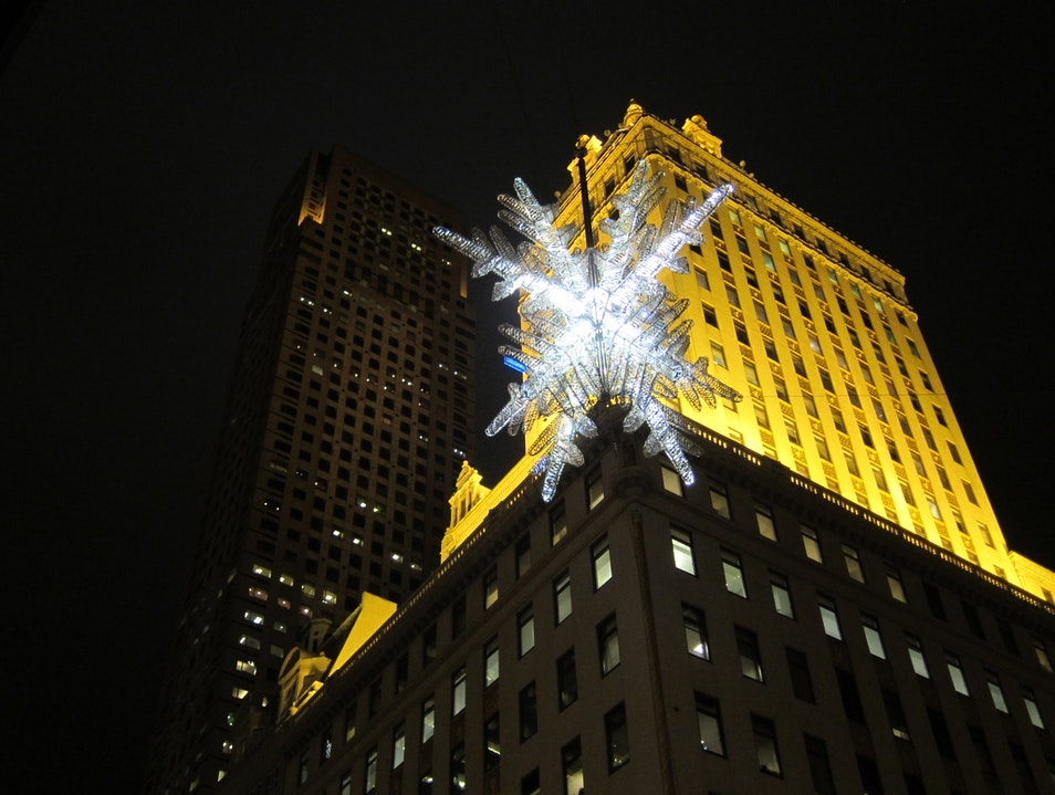 The UNICEF Snowflake New York New York United States