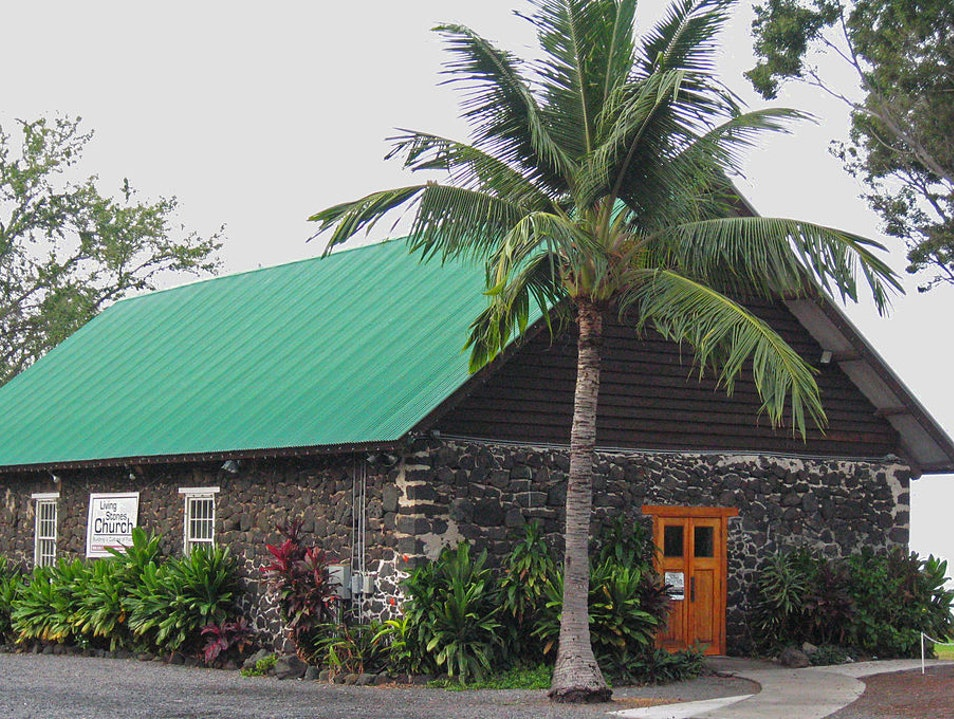 The Old Stone Church of Kona