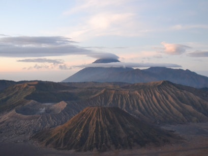 Bromo Volcano Viewpoint Sukapura  Indonesia