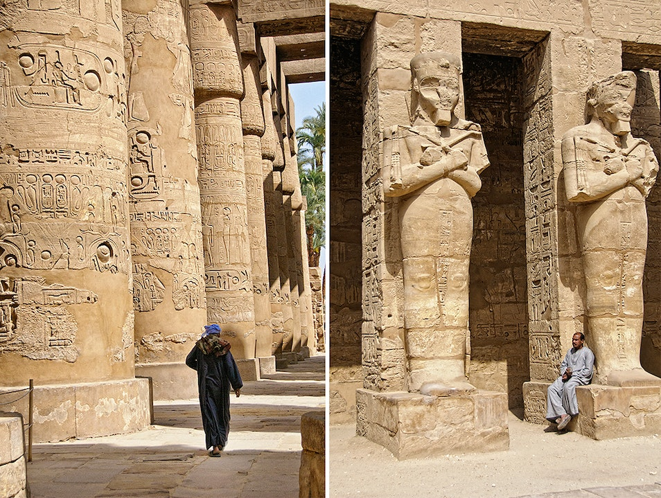 Marvel at the Karnak Temple Complex near Luxor