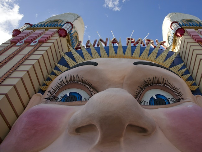 Visit Luna Park 'Just for Fun'