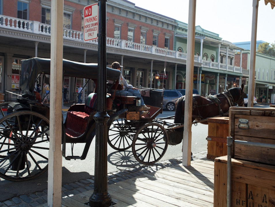 Carriage Rides: A Old Town Sacramento Tradition Sacramento California United States