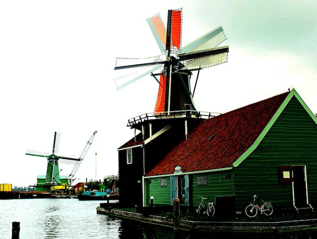 A Windmill Transformed into a Working Oil Mill