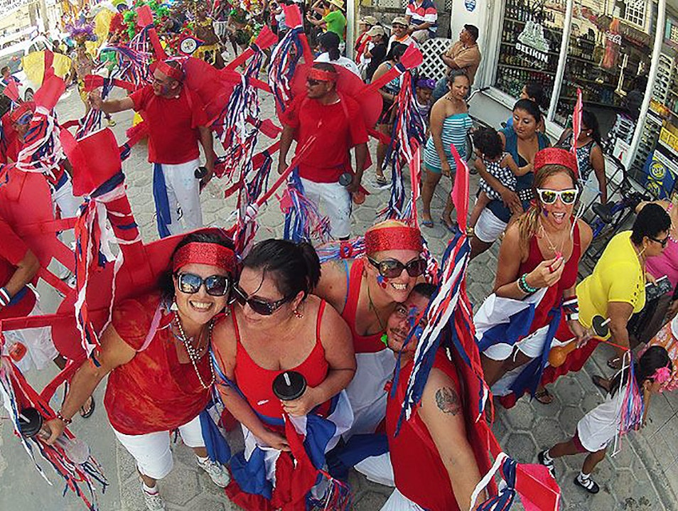 Party at September Celebrations  San Pedro  Belize