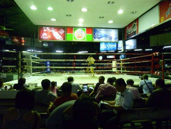 Watch Muay Thai boxing in Bangkok