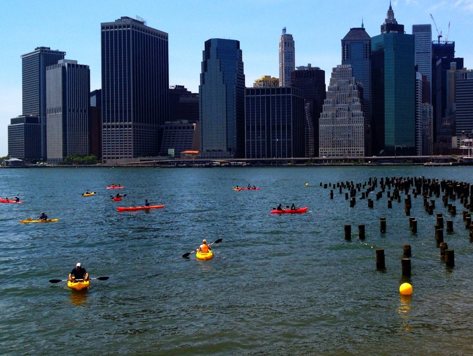 Free Kayaking! New York New York United States