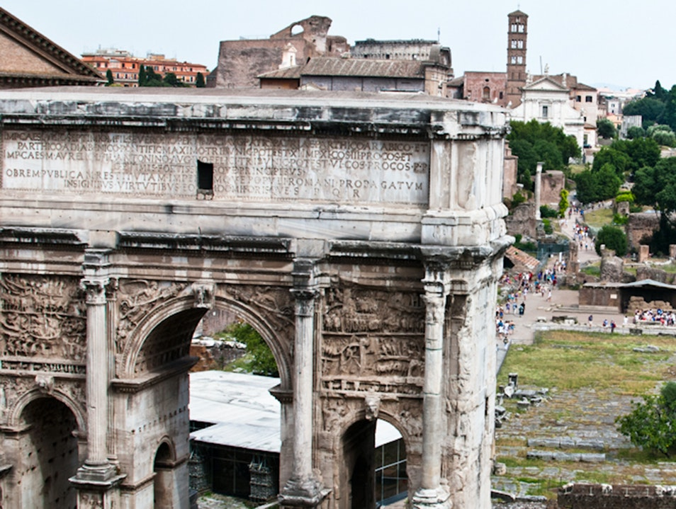 The Meeting Place for Friends, Romans, Countrymen... Rome  Italy