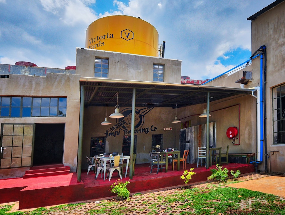 A Colorful Craft Brewery in Johannesburg's Victoria Yards Industrial Space   South Africa
