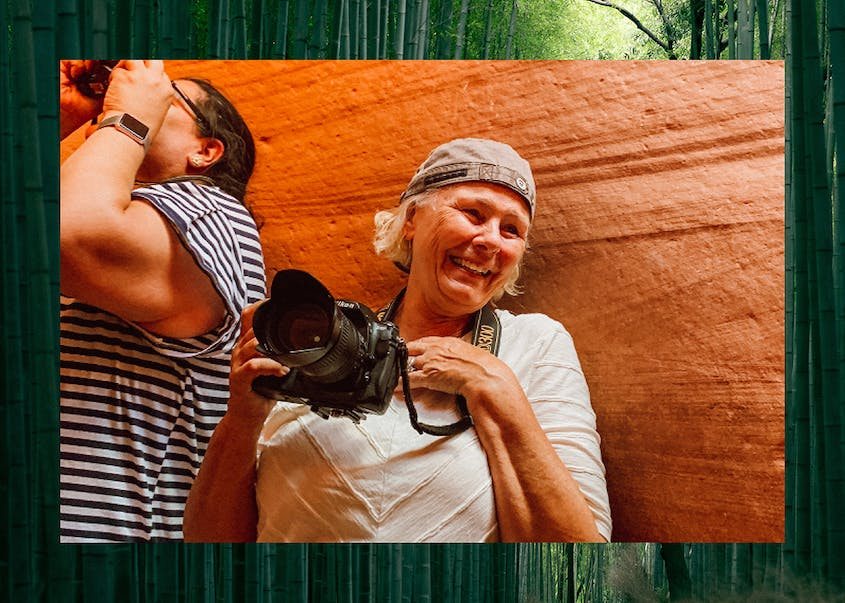 Damesly offers tours for women who want to build a certain skill, like photography.
