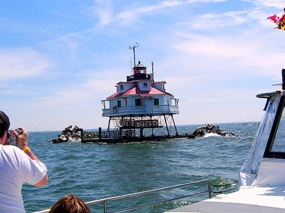 Thomas Point Shoal Lighthouse / Annapolis Maritime Museum Annapolis Maryland United States