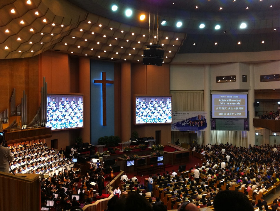 Finding Spirituality at the World's Largest Church